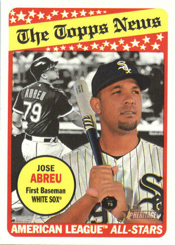 Photo of 2018 Topps Heritage #377 Jose Abreu