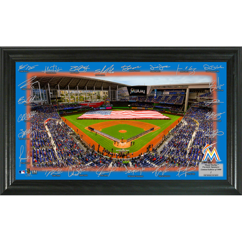 Photo of Serial #1! Miami Marlins 2018 Signature Field