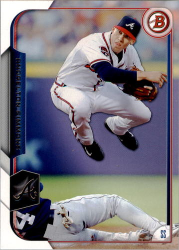 Photo of 2015 Bowman #119 Andrelton Simmons