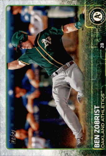 Photo of 2015 Topps #386 Ben Zobrist