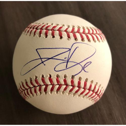 Photo of Jermaine Dye 50th Anniversary Autographed Baseball