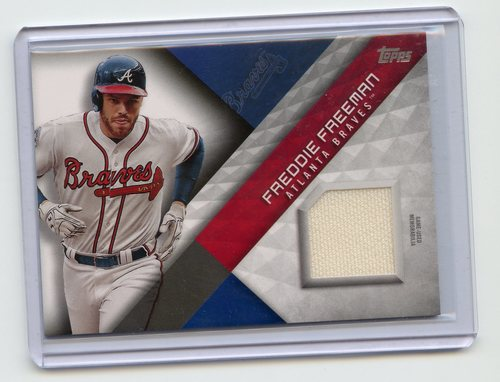 Photo of 2018 Topps Major League Materials #MLMFF Freddie Freeman