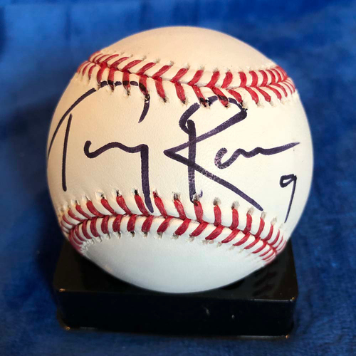Photo of UMPS CARE AUCTION: Tony Romo Signed Baseball