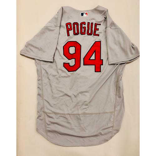 Photo of 2019 Mexico Series Game Used Jersey - Jamie Pogue Size 48 (St. Louis Cardinals)