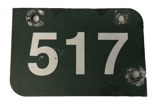 Photo of Wrigley Field Collection -- Aisle Marker 517 -- Removed after 2018 Season