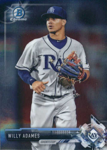 Photo of 2017 Bowman Chrome Prospects #BCP140 Willy Adames