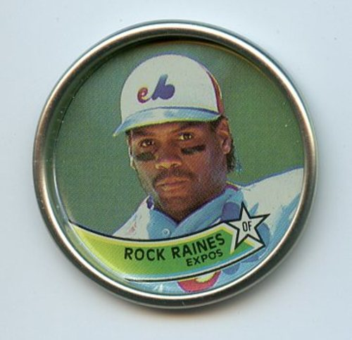 Photo of 1989 Topps Coins #22 Rock Raines