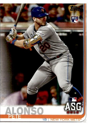 Photo of 2019 Topps Update #US47 Pete Alonso All Star