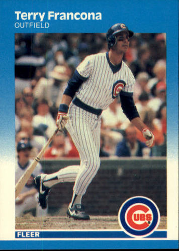 Photo of 1987 Fleer #564 Terry Francona