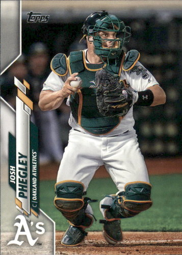 Photo of 2020 Topps #102 Josh Phegley