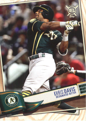 Photo of 2019 Topps Big League #312 Khris Davis
