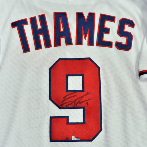 Washington Nationals Philanthropies Jerseys Off Their Back Auction - Eric Thames - Autographed Game-Used Jersey - Size 46
