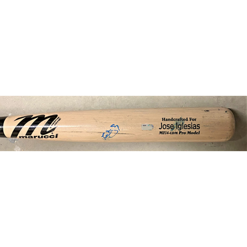Photo of Jose Iglesias Detroit Tigers Autographed Bat (MLB AUTHENTICATED)
