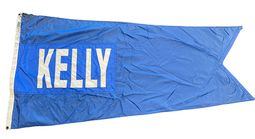 Wrigley Field Collection -- Rooftop Flag --  King Kelly
