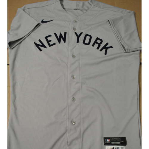 Photo of 2021 New York Yankees vs. Chicago White Sox in Dyersville, Iowa - Game-Used 1919 Throwback Jersey - Albert Abreu - Size 46TC