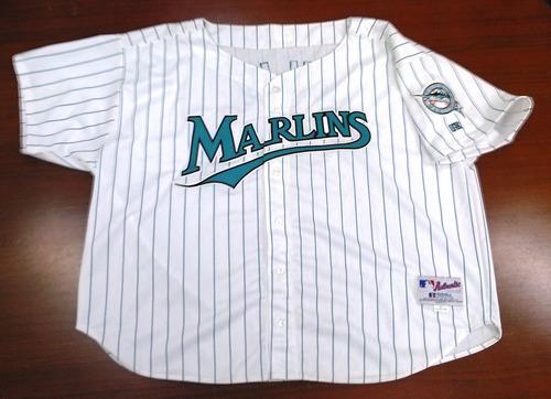 0115b4b1 florida marlins pinstripe jersey