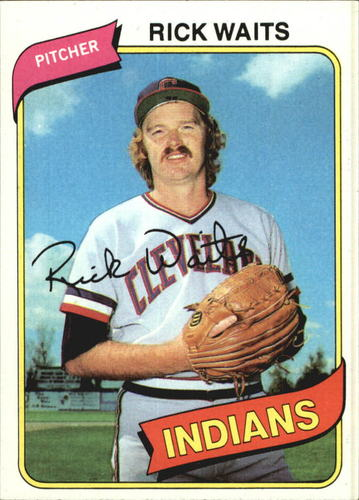 Photo of 1980 Topps #168 Rick Waits