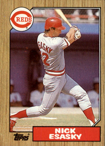 Photo of 1987 Topps #13 Nick Esasky