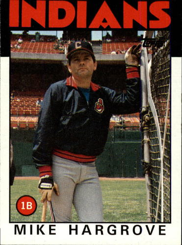 Photo of 1986 Topps #136 Mike Hargrove