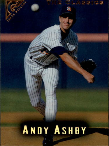 Photo of 1996 Topps Gallery #61 Andy Ashby