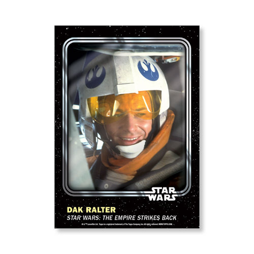 Dak Ralter 2016 Star Wars Card Trader Base Poster - # to 99