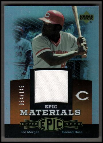 Photo of 2006 Upper Deck Epic Materials Dark Orange #JO2 Joe Morgan Jsy/145