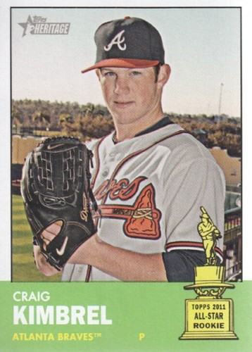 Photo of 2012 Topps Heritage #398 Craig Kimbrel