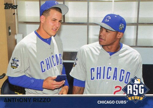 Photo of 2016 Topps Update All-Star Game Access #MLB3 Anthony Rizzo