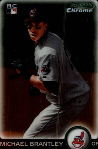 Photo of 2010 Bowman Chrome #204 Michael Brantley Rookie Card