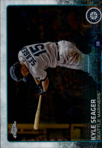 Photo of 2015 Topps Chrome #188 Kyle Seager