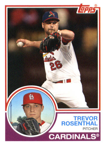 Photo of 2015 Topps Archives #298 Trevor Rosenthal