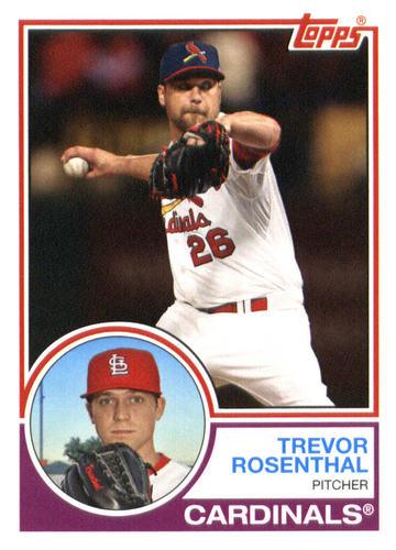 Photo of 2015 Topps Archives #298 Trevor Rosenthal