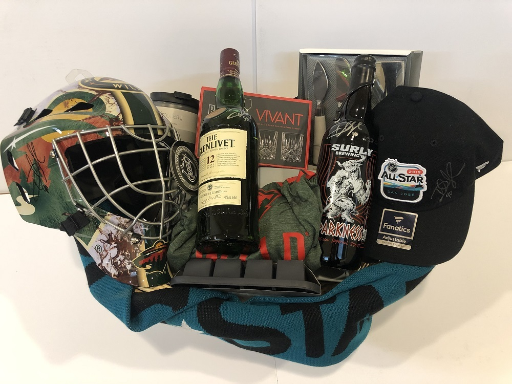 Devan & Jennifer Dubnyk Favorite Things Basket