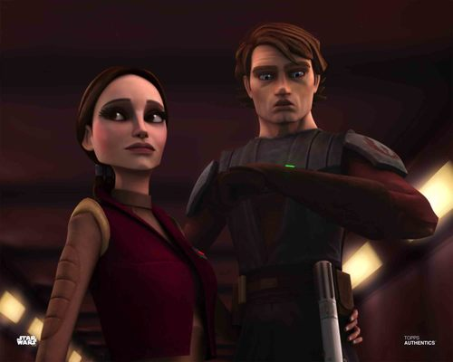 Anakin Skywalker and Padme Amidala