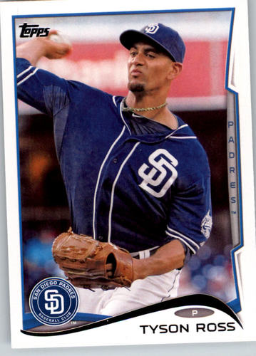 Photo of 2014 Topps #87 Tyson Ross