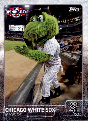 Photo of 2015 Topps Opening Day Mascots #M06 Chicago White Sox