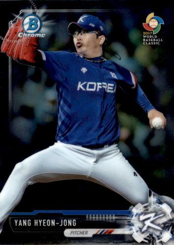 Photo of 2017 Bowman Chrome Prospects #BCP141 Yang Hyeon-Jong