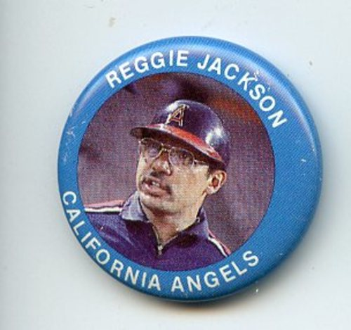 Photo of 1984 Fun Foods Pins #16 Reggie Jackson