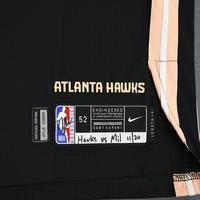 Damian Jones - Atlanta Hawks - Game-Worn City Edition Jersey - 2019-20 Season