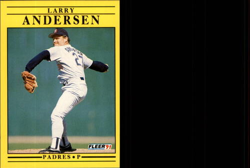 Photo of 1991 Fleer Update #120 Larry Andersen