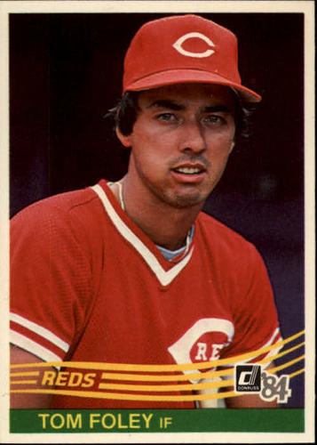 Photo of 1984 Donruss #81 Tom Foley