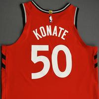 Sagaba Konate - Toronto Raptors - Game-Worn Icon Edition Jersey - NBA Japan Games - Dressed, Did Not Play - 2019-20 NBA Season