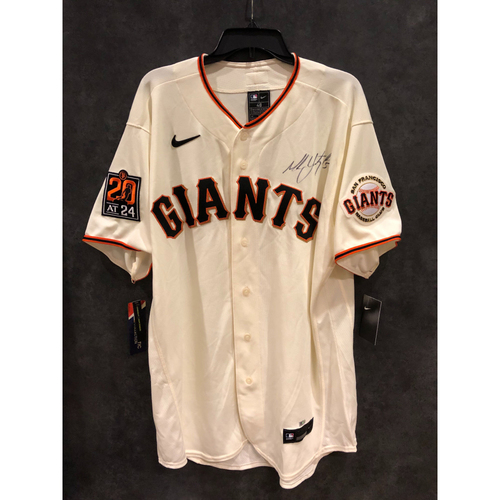 Photo of Giants Community Fund: Mike Yazstremski Autographed Jersey