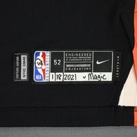 Julius Randle - New York Knicks - Game-Worn City Edition Jersey - Recorded a Double-Double - 2020-21 NBA Season