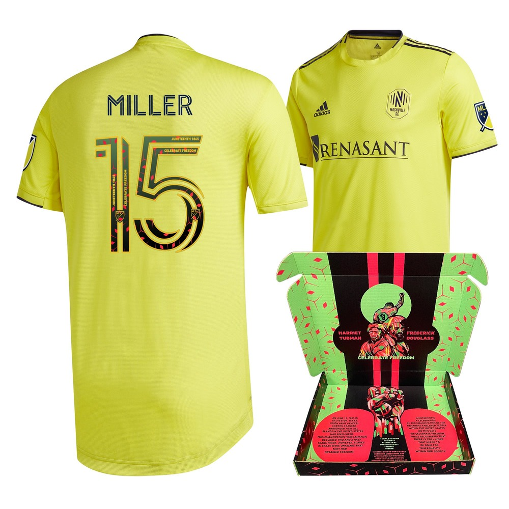 Eric Miller Nashville SC Player-Issued