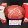 Legends - Bengals Anthony Munoz Signed Authentic Football