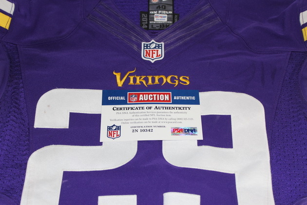 size 40 5d60d 78a2c NFL Auction | STS - VIKINGS XAVIER RHODES GAME USED VIKINGS ...