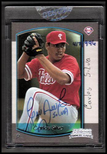 Photo of 2006 Bowman Originals Buyback Autographs #188 Carlos Silva 00 B/996 F