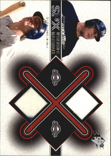 Photo of 2001 SPx Winning Materials Update Duos #JBRY Jeromy Burnitz/Robin Yount
