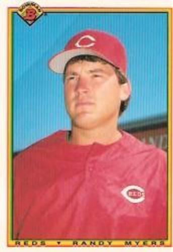 Photo of 1990 Bowman Tiffany #47 Randy Myers UER